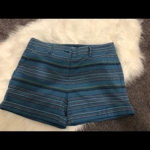 Loft striped shorts. Size 4